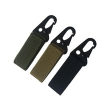 Camping Hiking Accessories Carabiner High Strength Nylon Key Hook MOLLE Webbing Buckle Hanging System Belt Buckle Hanging