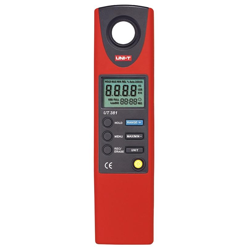 UNI-T UT381 Digital Professional Photometer Illuminance Measurement LCD Auto Range LUX/FC Luminometer Lux Meter UNI-T UT381 цена