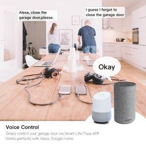 Image 2 - WiFi חכם מוסך דלת בקר פותחן חכם חיים/Tuya APP מרחוק תואם עם Alexa הד Google בית אין רכזת דורש