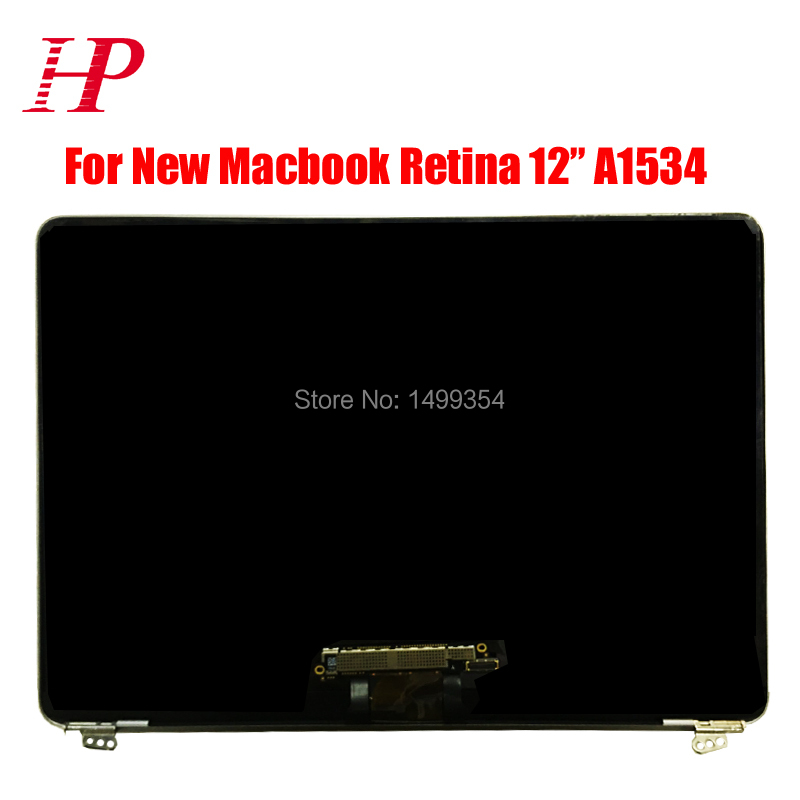 Genuine New Early 2015 MF855 MF865 A1534 LCD LED Screen For New Macbook 12''A1534 LCD Screen Assembly Silver / Gold / Gray 12 0 lcd screen lsn120dl01 for macbook retina a1534 mj4n2ch mf865ch lsn120dl01 lcd screen a1534 glass 2048 1536