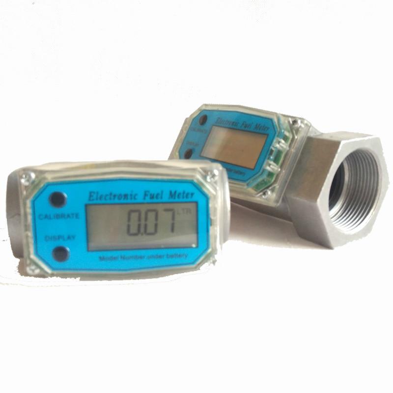 ФОТО Turbine flowmeter Diesel / gasoline / methanol / water flow meter Electronic digital electronic meter free shipping