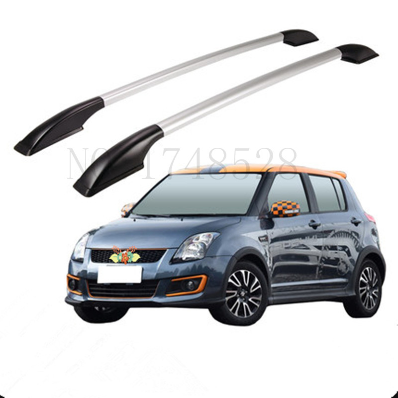 Free of punch Auto parts Refitting the roof rack of aluminum alloy luggage rack for Suzuki swift 1.3M Accessories partol black car roof rack cross bars roof luggage carrier cargo boxes bike rack 45kg 100lbs for honda pilot 2013 2014 2015