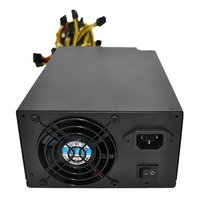 2018 High Efficiency Rated 2200W Power Supply With EMC With Dual 8CM Low Noise Cooling Fans