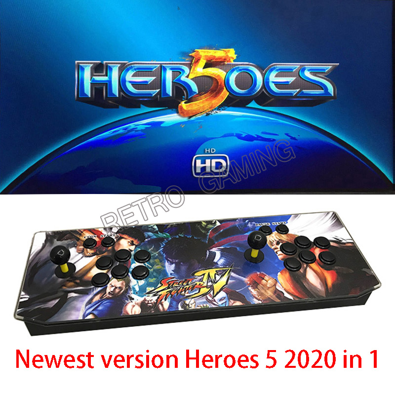 Ps3 Games 2020.Us 145 75 2000 In 1 Upgrade To 2020 In 1 Arcade Jamma Game Console Heroes 5 Hdmi Joystick Console Usb To Pc Ps3 With Joystick Push Button In Coin