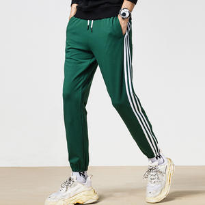 SHERRYLO Streetwear Male Pants Trousers Mens Sweatpants
