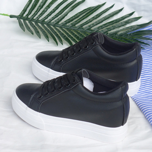 Image 4 - Fashion Platform Sneakers New Autumn Women Shoes For Woman Casual Shoes Wild Platform Heels Female Leisure Women White Sneakers