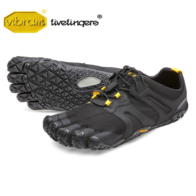 Vibram Fivefingers V-TRAIL 2.0 men's Sneaker Cross-country Non-slip Running Outdoor Five fingers MEGAGRIP sole sports Shoes
