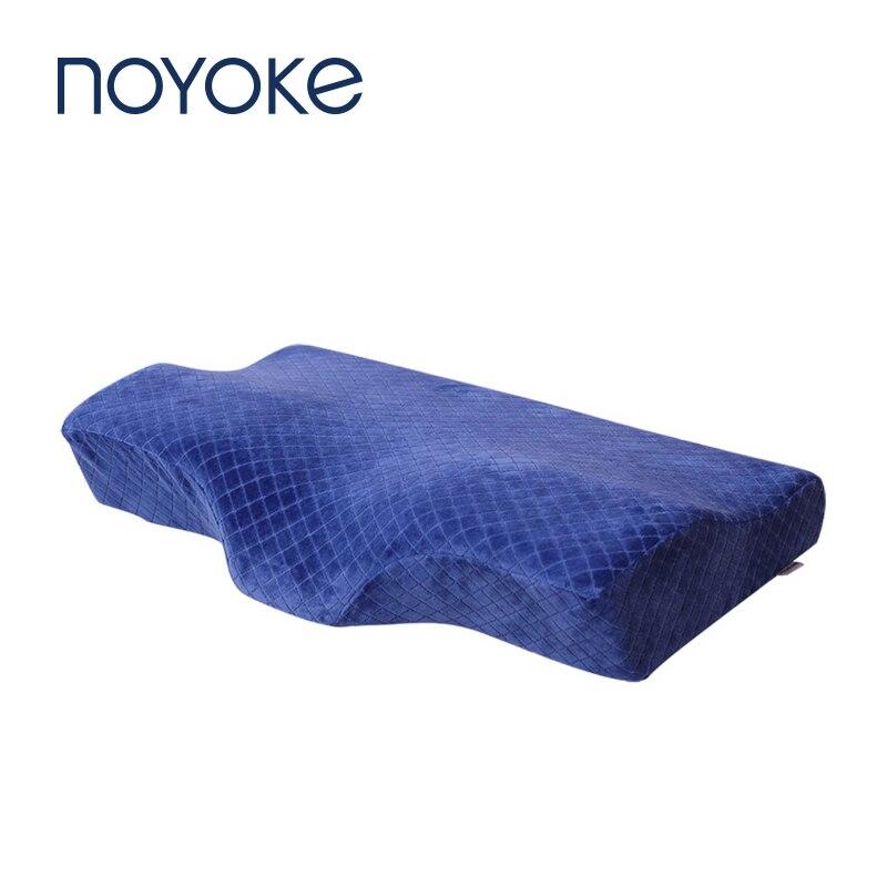 Oreillers en mousse à mémoire de forme noempiècement oreiller de pression à rebond lent oreillers orthopédiques cervicaux pour dormir-in Oreillers from Maison & Animalerie    1