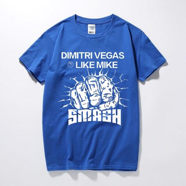 e603db335ba197 New Design Men T Shirt Dj Dimitri Vegas As Mike T Shirt Cotton ...