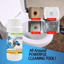 Líquido de limpeza de espuma rápida bolha mágica bombas qualidade 1 garrafa 100g ferramentas limpeza super power incrível toalete cleaner # g6