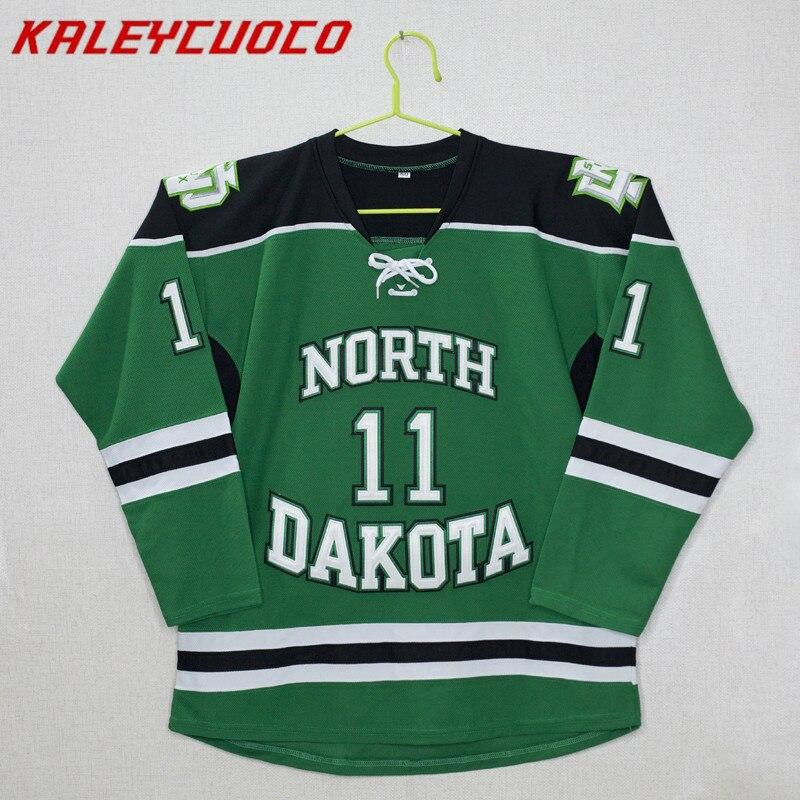 North Dakota Fighting Sioux #11 Zach Parise Stitched Hockey JerseyNorth Dakota Fighting Sioux #11 Zach Parise Stitched Hockey Jersey