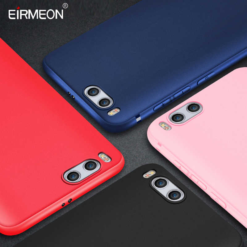 Lembut TPU untuk Red Mi S2 Case Merah MI 5 Plus 4X 4A Catatan 4X Note 5 5A 6A 6 untuk Xiao Mi Mi 8 5X 6X A2 Mi X 2 Matte Frosted Silicon Cover