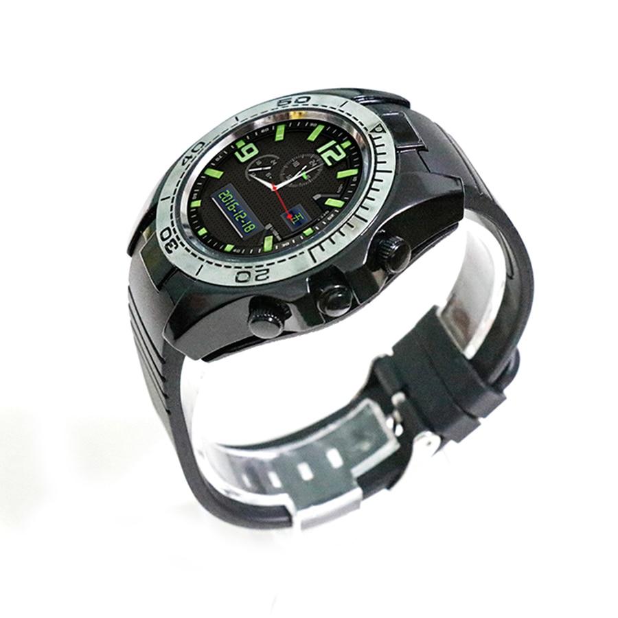 imágenes para Pantalla Táctil inteligente reloj SW007 Con Número de Teléfono Bluetooth SmartWatch Llamada Mic Con Instrumento Altitud para android