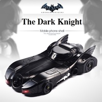 Latest Version Batmobile Cover Batman Cool Case For iphone6 6S 7 8plus Retro Crazy Case Stylish Shell The Dark Knight Hero Skin
