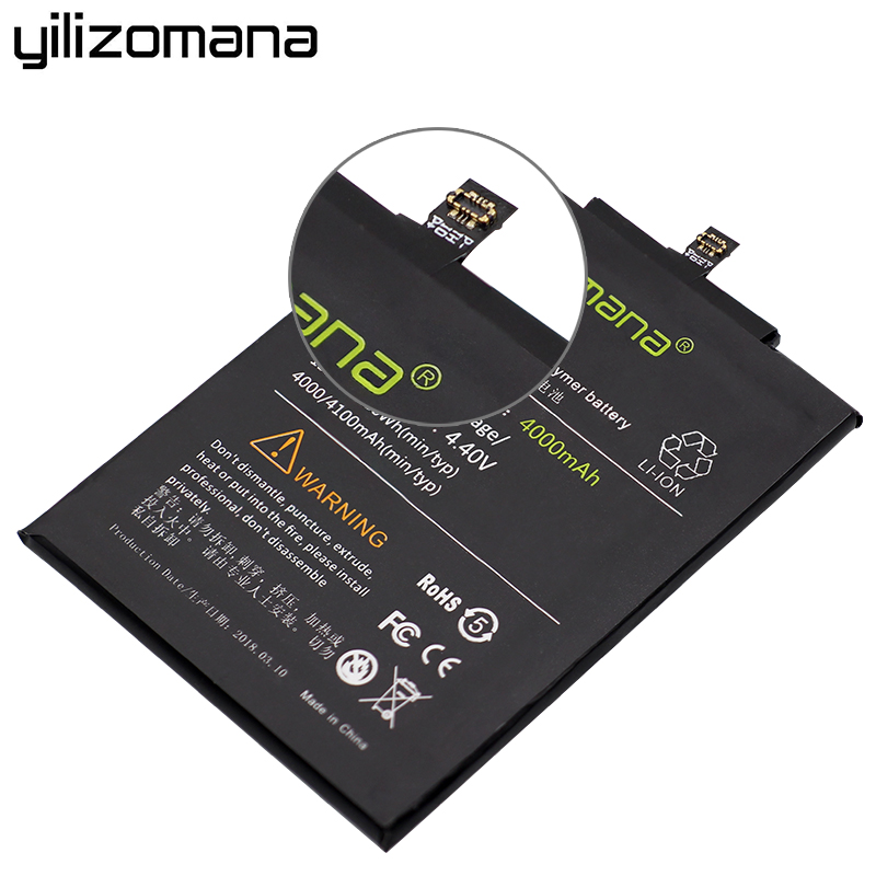 Yilizomana Replacement Phone Battery Bm47 For Xiaomi Redmi 3 3s 4x 3x 3 Pro Batteries 4000mah High Capacity Retail Package Tools Mobile Phone Batteries