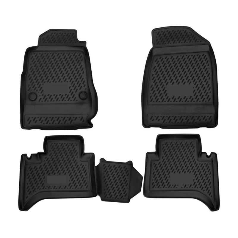 Mats in the salon For CHEVROLET Trailblazer, 2013-> 4 PCs (polyurethane) mats in salon сртк chevrolet еpikа 09 rubber ch ep 06 10 g 02043