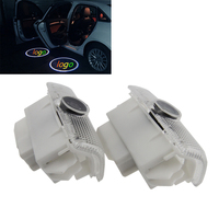 2 Pcs For Nissan Patrol Teana 2006 2012 3D Projection LED Projector Door Shadow Light Welcome