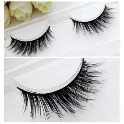 d071fd49754 Free shipping 100% 3 D real mink lashes siberian mink fur eyelash thick  false eyelashes mink lashes extension