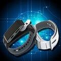 2017 nueva moda bluetooth smart watch pulsera banda reloj relojes de alarma de hora correa de caucho led h3 regalo rastreador de ejercicios