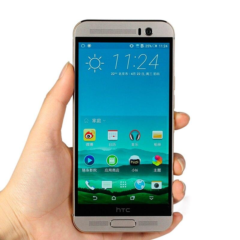 """bilder für Original HTC ONE M9 + 5,2 """"Freigesetzter handy M9 plus octa-core 3 GB RAM 32 GB ROM fingerabdruckerkennung 4G-LTE"""