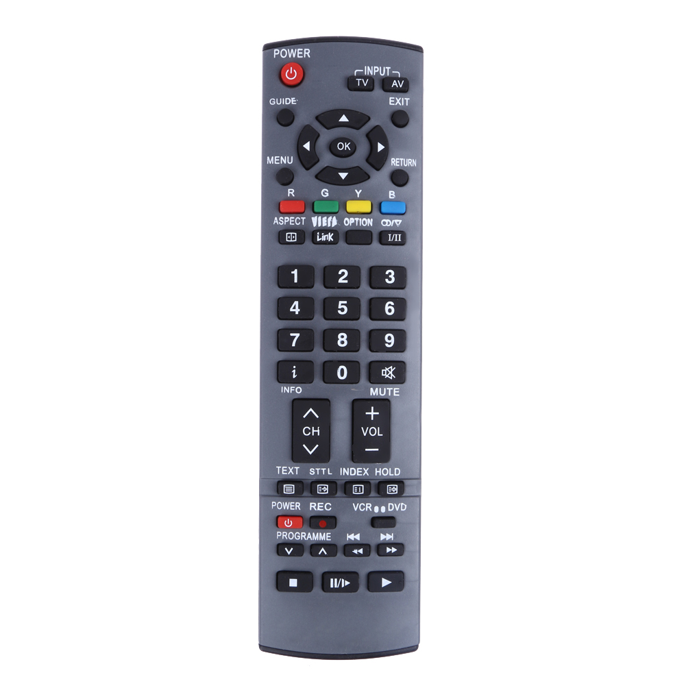 new replacement remote control for panasonic tv viera eur