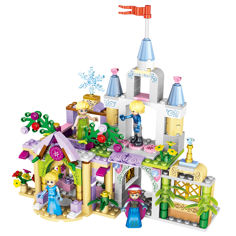 37020 Princess Castle Cinderella Arendelle Model Building Blocks Bricks Toys for Children Girls Friends Compatible with Legoe зайчик сева просит прощения полезные сказки фгос