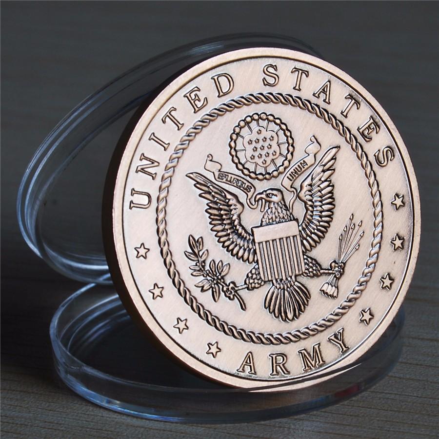 NEW US Army 72 Virgins Bronze Antique Challenge Coin (13)