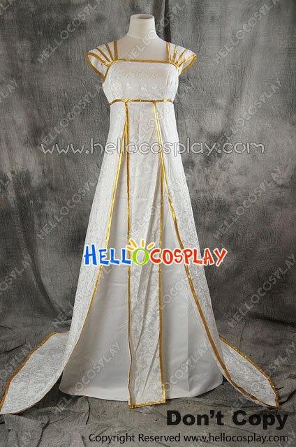 Fate Zero Cosplay Irisviel Von Einzbern White Dress Costume H008