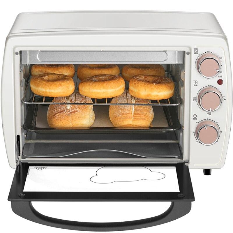 220 В многофункциональная электрическая духовка, Бытовая мини 20л, Автоматическая Печь Для Выпечки Пиццы, печь, машина, простая в эксплуатации