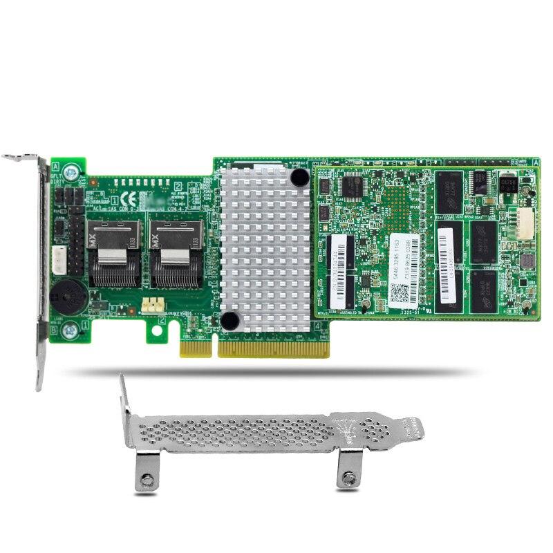 MegaRaid 9270CV-8i 8-Port PCIe 3.0 6Gb/s SATA+SAS RAID Controller Card 1GB Cache опция lenovo 00mj093 6gb sas 4 port host interface card