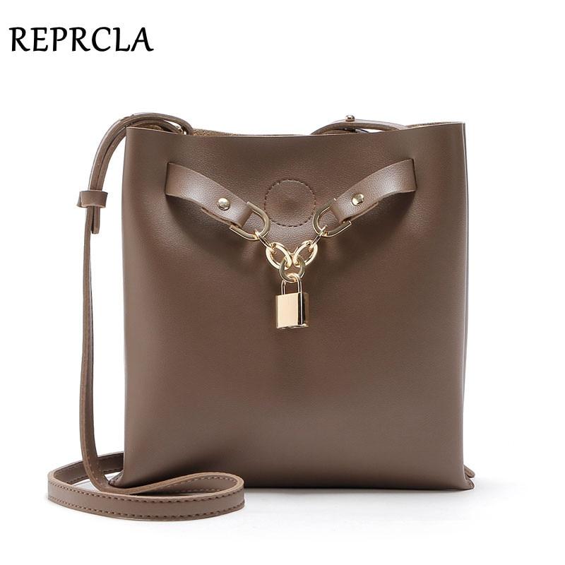 REPRCLA 럭셔리 디자이너 여성 복합 가방 패션 어깨 가방 Pu 가죽 여성 메신저 가방 크로스 바디 크로스