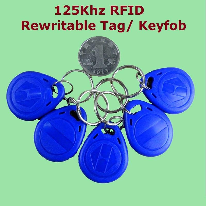 50 шт/лот 125 кГц Бесконтактный rfid em4305 t5577 Смарт id записываемый