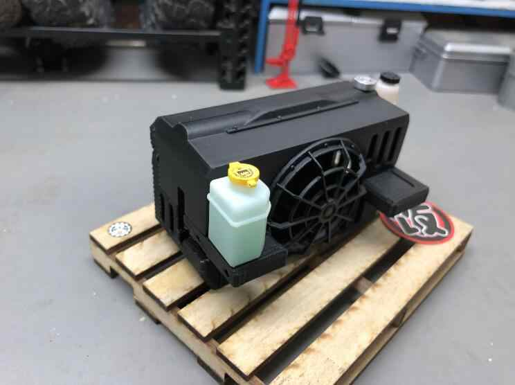 Simulation vice tank water can Kettle for Capo jkmax C2 CD15827 1/10 SCALE RC WRANGLER CRAWLER TRUCK