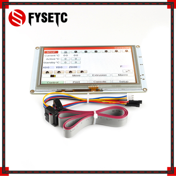 3D Printer Parts Clone 5'' 5 inch PanelDue 5i Integrated Paneldue Colour Touch Screen Controllers For DuetWifi Duet 2 Ethernet