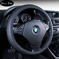 Car Steering Wheel Cover  Artificial leather Gray /Black/Beiga car wheel covers styling steering wheel hubs for honda cc a6