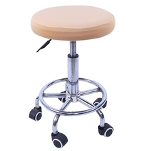 Chair Cover Round Stool Cover Elastic Seat Cover Bar Stool Slipcover Round  Chair Protector Covers For
