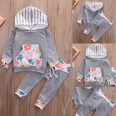 Baby Girl Clothing Long Sleeve Cotton Print Teddy Kids Set Bow T-Shirt + Pants Baby Set