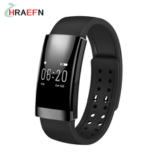 Hraefn MS01 Smart band Heart Rate Monitor smartband sport Bracelet Waterproof IP65 men women watches for IOS Android SmartPhone