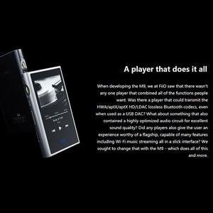 Image 4 - FiiO M9 HIFI AK4490EN * 2 Balanced WIFI USB DAC DSDเสียงความละเอียดสูงMP3บลูทูธLDAC APTX FLAC