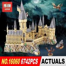 16060 Лепин 2018 Гарри Magic Potter Хогвартс замок школа Совместимость Legoing 71043 здания Конструкторы кирпичи развивающие игрушки модель