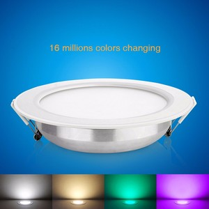 Image 5 - 6W 12W RGB CCT LED Downlight For Ceiling Mi Light FUT068 FUT066 Round Panel Lamp Dimmable Group Control RF Remote Controller