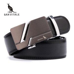 Men Belts 2018 new Brand men's fashion Luxury belts for men genuine leather Belts for man designer belt cowskin high quality(China)