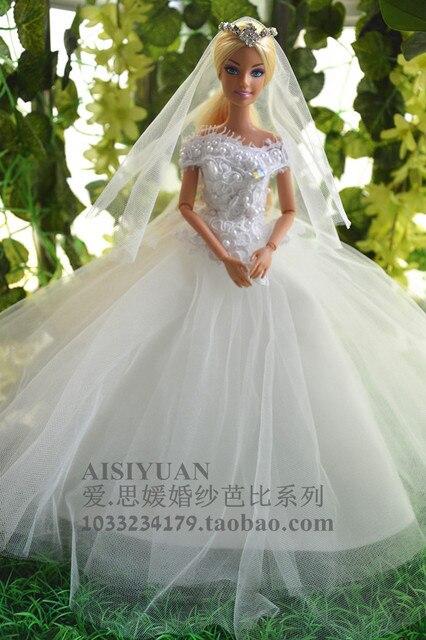 Барби свадебное платье купить