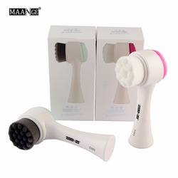 Double Side Multifunctional Face Cleanser Brush Skin Cleaner Face Washing Machine Exfoliator Facial Cleaning Brush