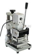 1pc Foil Stamping Machine Tipper Brozing PVC CARD+1 Free Foil Paper 110/220V