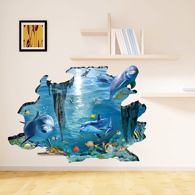 Online Shop 60*90cm Personality Creative DIY Wall Paper Cartoon ...