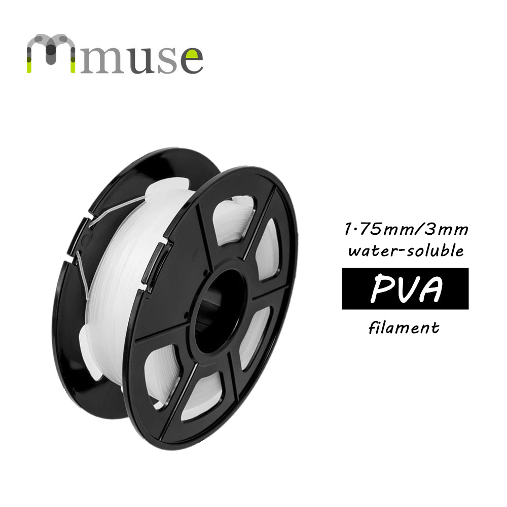 0.5kg High-Quality PVA Filament Dissoluble 3D Printer Filament 1.75mm 3mm ppyy new 2pcs high quality 3mm white pva dissolvable 3d printer filament 60m 0 5kg 1 1lbs 30 60mm s include spool and leathe