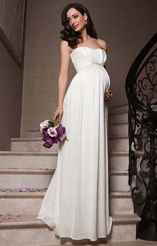 Online Get Cheap Simple Maternity Wedding Dresses -Aliexpress.com ...