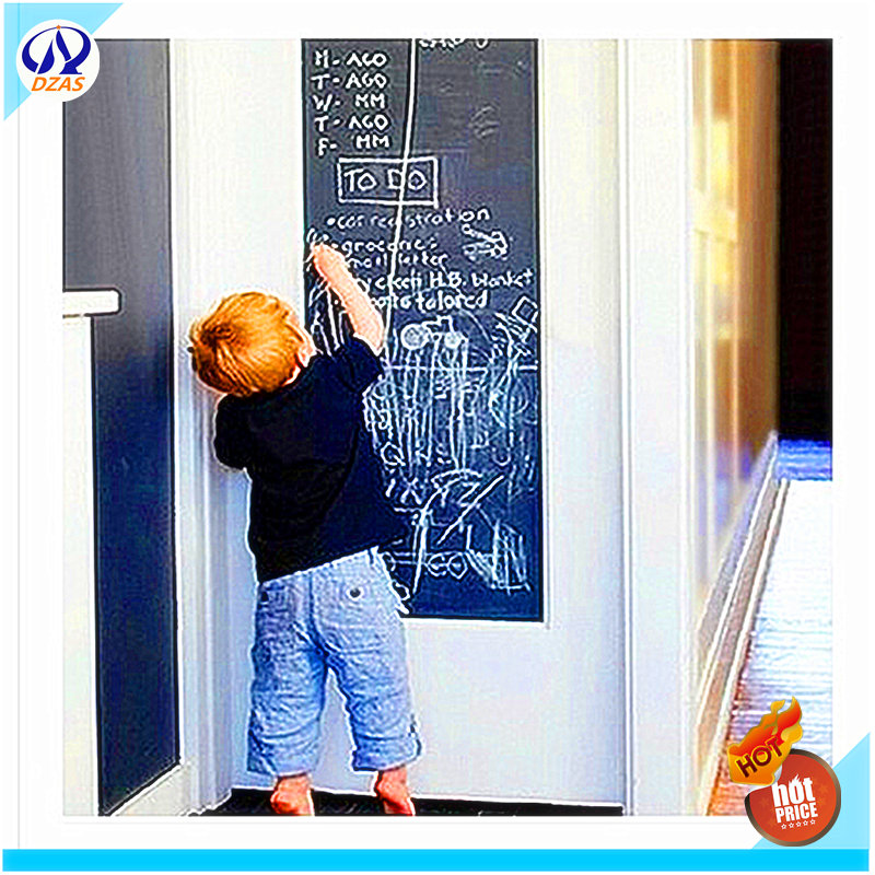 Cheaper thick wall stickers environmental teaching blackboard whiteboard can remove for children's room wall sticker removable blackboard week wall stickers