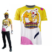 Final Fantasy XV Noctis Lucis Caelum Cosplay Costume Halloween Carnival T shirt FF15 Moogle Chocobo Summer Printed Top Tee